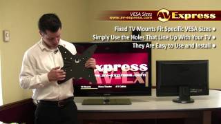 How To Measure TV VESA Size -- What is VESA Mount Pattern | AV-Express