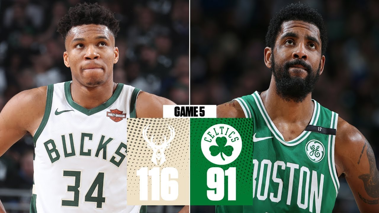 Bucks beat Celtics in Game 5 to move onto Eastern Conference finals | 2019 NBA Playoff Highlights