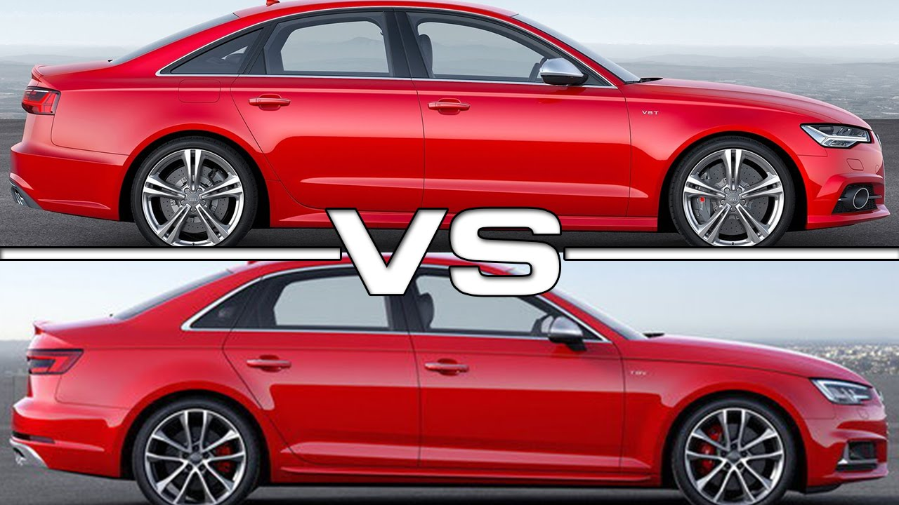 Audi S6 Vs Audi S4 Road Test Youtube
