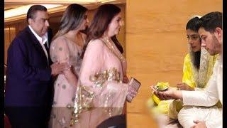 Ambani Family: Nita Ambani, Mukesh Ambani Arrive At Priyanka Chopra