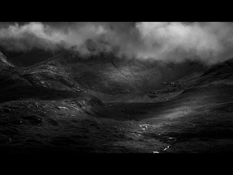 Black and White Landscape Photography Editing in Lightroom - The Dark Isle of Skye