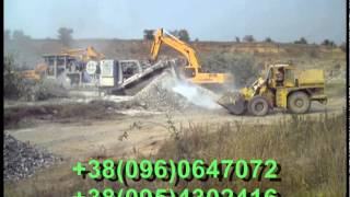 Отсев гранитный с доставкой от 40 тонн(Отсев гранитного щебня фракции 0 - 0,5 мм. Фактически - это остаточный материал при дроблении горных пород..., 2015-04-22T06:43:15.000Z)