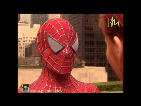 Spiderman - Azərbaycanda bir dənə kişi var
