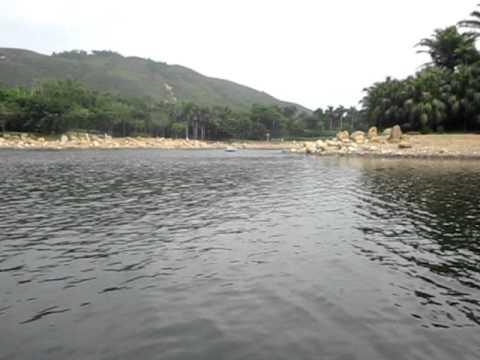 boating at inspiration lake