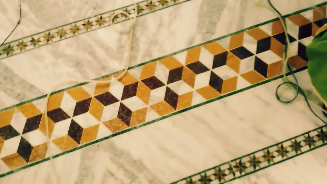 Marble Flooring Design Border Part In Work India Youtube