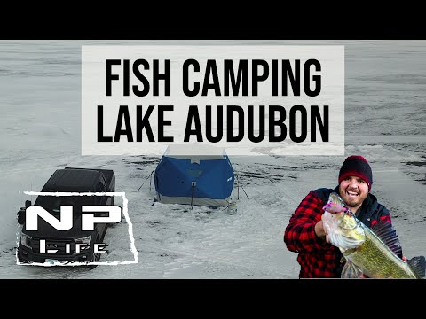 Audubon All Nighter | Winter Fish Camping In North Dakota | NPLife