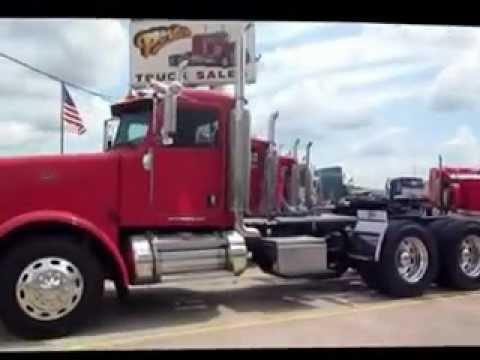porter truck sales bossier city shreveport la peterbilt 379 daycab youtube. Black Bedroom Furniture Sets. Home Design Ideas