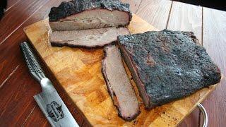 Perfektes Beef Brisket vom Limousin Rind