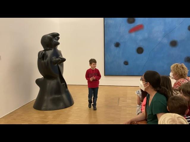 Seuls avec les Miro - Pompidou 2021