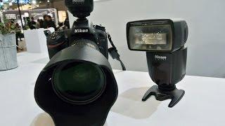 Nissin Japanブースでは、新製品のワイヤレスストロボ 「スピードライト...