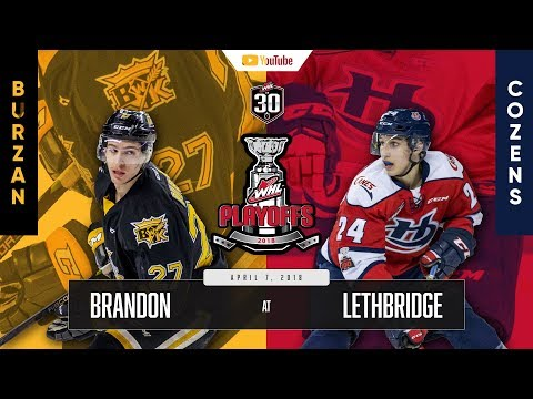 WHL IN 30 || Brandon Wheat Kings vs Lethbridge Hurricanes – April 6, 2018