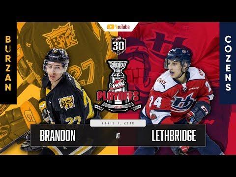 WHL IN 30 || Brandon Wheat Kings vs Lethbridge Hurricanes – April 6, 2018