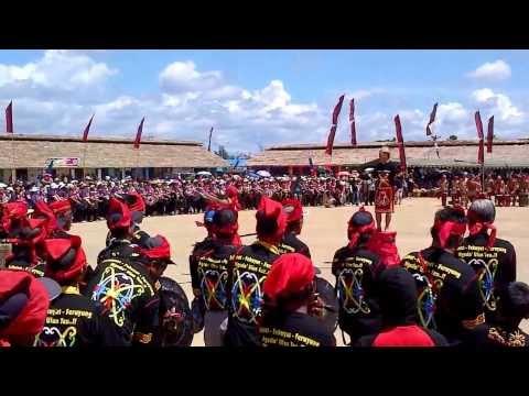 Ali Anshori : Pemecah rekor penampilan 1000 Gong suku loundaye Kab Malinau