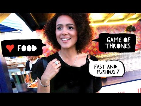 Eat & Meet with Nathalie Emmanuel  Game of Thrones, Fast Furious 7  AD