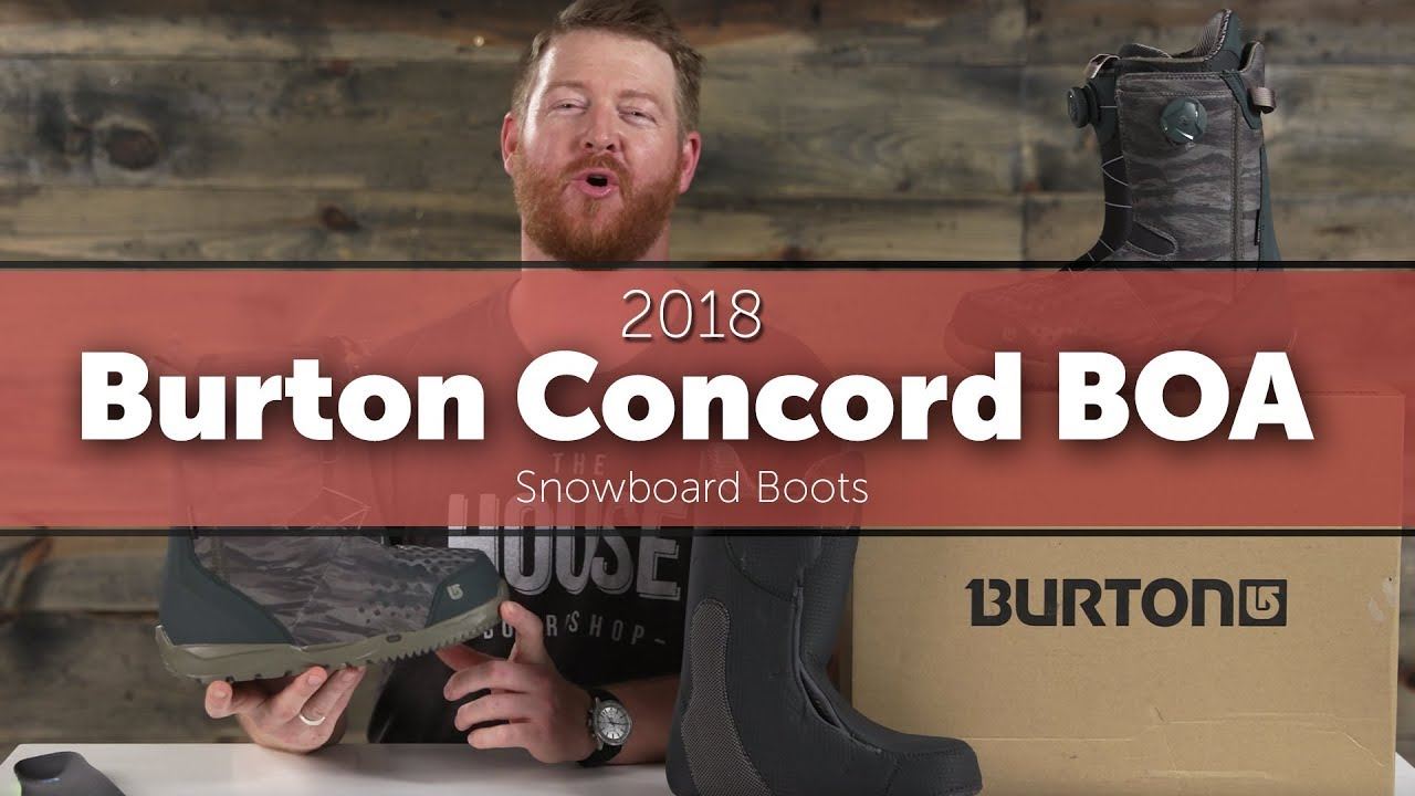 bb12788c73 2018 Burton Concord BOA Snowboard Boots