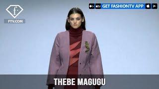 South Africa Fashion Week Fall/Winter 2018 - Thebe Magugu | FashionTV