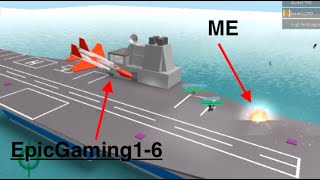 Roblox - EpicGaming1-6 : Jet Wars !!