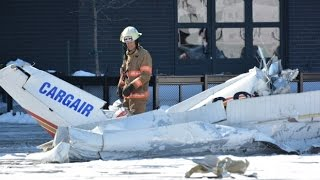 Planes collide in mid-air in Montreal