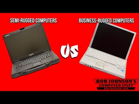 Semi Rugged Laptops vs. Business Rugged Laptops
