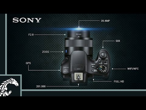 Review bridge super zoom Sony hx400v