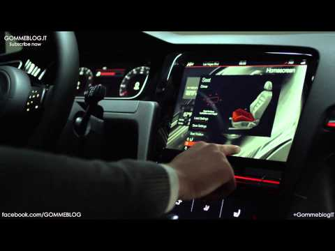 VW Golf R Touch | Switchless car Controls | CES 2015