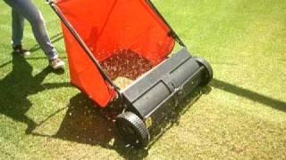 Cortador de grama vertical Marmoria VM2255 Varredeira Comercial Mineira