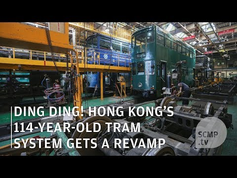 Ding ding: Hong Kong trams are getting a makeover