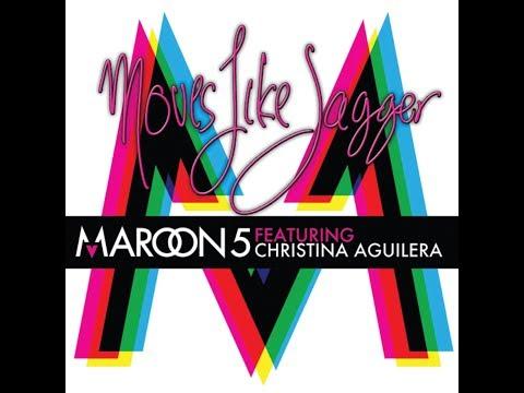 Moves Like Jagger (feat. Christina Aguilera) (Alternate Clean Radio Edit) (Audio) - Maroon 5