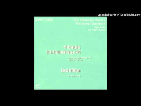 John Cage - 44 Harmonies From Apartment House 1776: XX