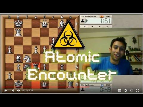 ATOMIC ENCOUNTER! | Blitz Chess #2:  GM atomicpatzer vs. Tal (Nimzo-Indian)- ICC 3-minute pool