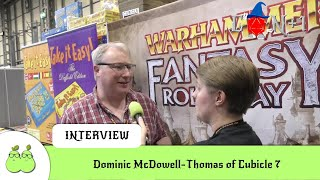 Cubicle 7 and Warhammer Fantasy Roleplay Interview with Dominic McDowell-Thomas