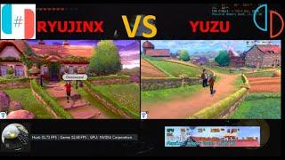 RYUJINX VS YUZU: POKEMON SWORD & SHIELD