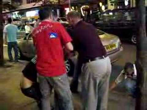 Girl Fight in Wan Chai