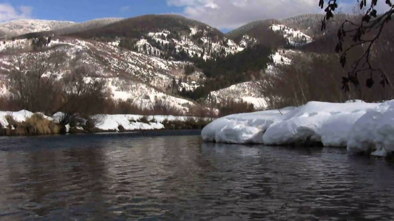 Fly fishing colorado yampa river february part 4 youtube for Yampa river fishing report