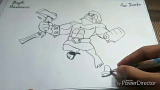 How to Draw Clash of Clans New Raged Barbarian