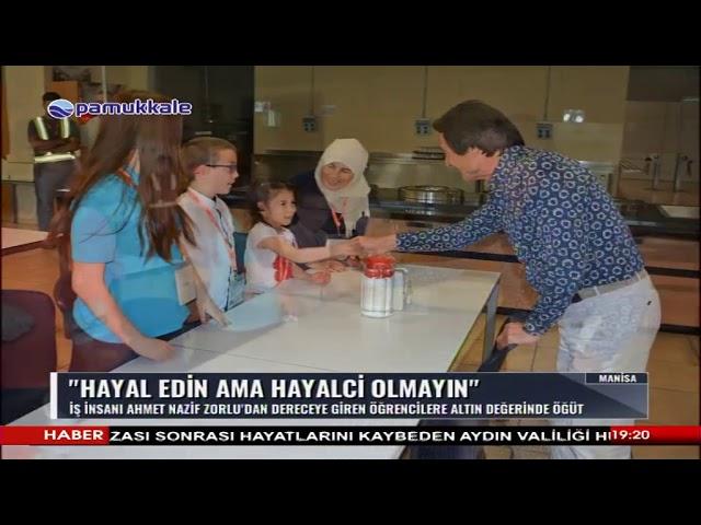 Pamukkale TV-Başarılı öğrenciler, Vestel City'yi gezdi 25 06 2019