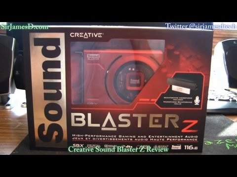 Creative Sound Blaster Z Review - SirJamesDTech