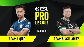 CS:GO - Team Liquid vs. Team Singularity [Overpass] Map 1 - Group C - ESL NA Pro League Season 10