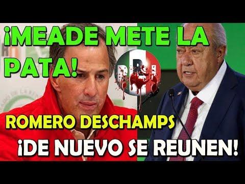 ¡ERROR! Meade se hunde al volver a relacionarse con Romero Deschamps - Campechaneando