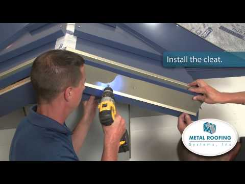 How To Flash Metal Roofing Systems Rake Installation Youtube