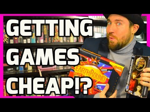 Buying Modern and Retro Games Cheap Today!? - Retro Game Collecting