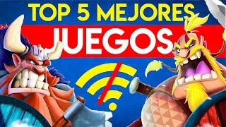 TOP 5 Mejores JUEGOS ¡Sin INTERNET y ONLINE! 2019 | Juegos ANDROID e iOS para CELULAR ¡DIVERTIDOS!