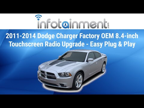 2011-2014 Dodge Charger Factory OEM 8.4-inch Touchscreen Radio Upgrade - Easy Plug & Play Install!