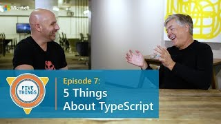 #FiveThings About TypeScript