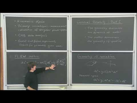 The Cosmic Microwave Background - R. Flauger - lecture 1/5