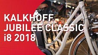 Kalkhoff Jubilee Classic i8 - 2018 - City E-Bike