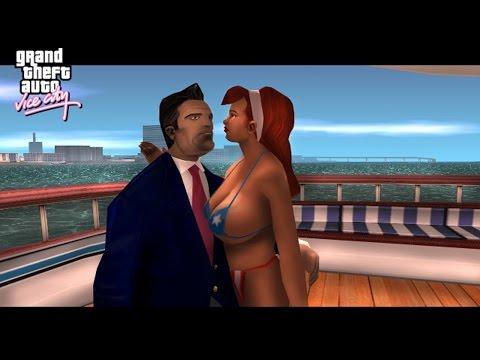 Grand Theft Auto Vice City Full Movie All Cutscenes Cinematics