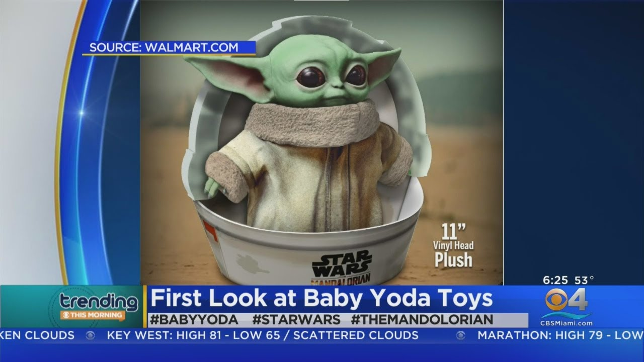 Build-A-Bear to debut Baby Yoda plushies