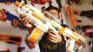 Modulus ECS-10 Nerf Blaster Mods?? Unboxing & Review