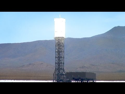 Mojave Death Ray - Stateline Solar Farm in California Nevada Desert - Raw Footage